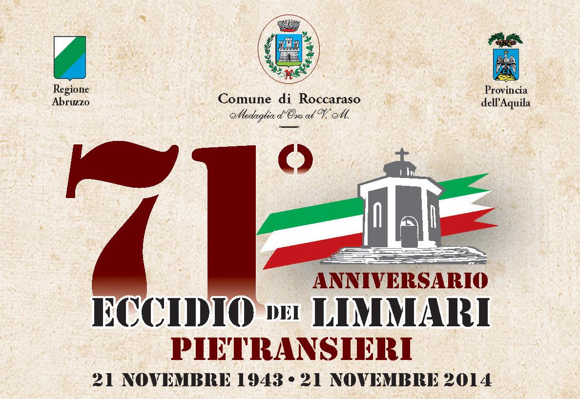 Eccidio dei Limmari - Pietransieri - 71° Anniversario