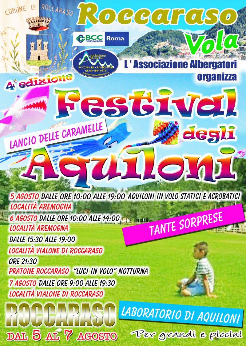 Roccaraso Vola - Festival Aquiloni 2016