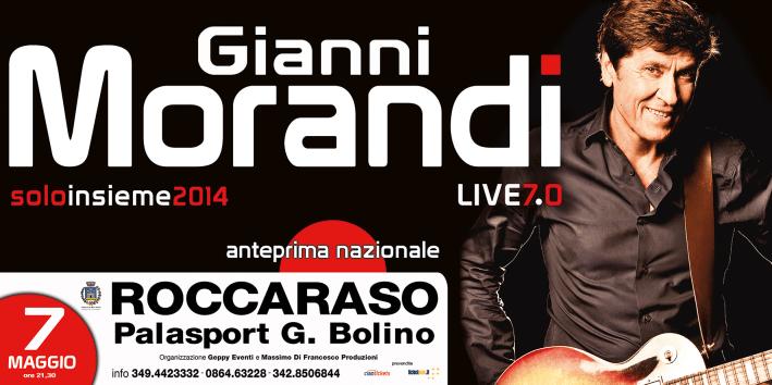Gianni Morandi Live 7.0 - Palasport G. Bolino - Roccaraso