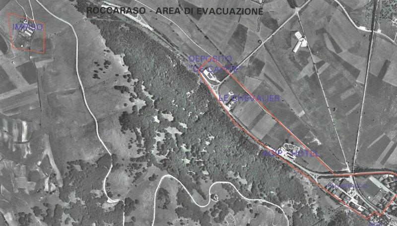 Area di evacuazione
